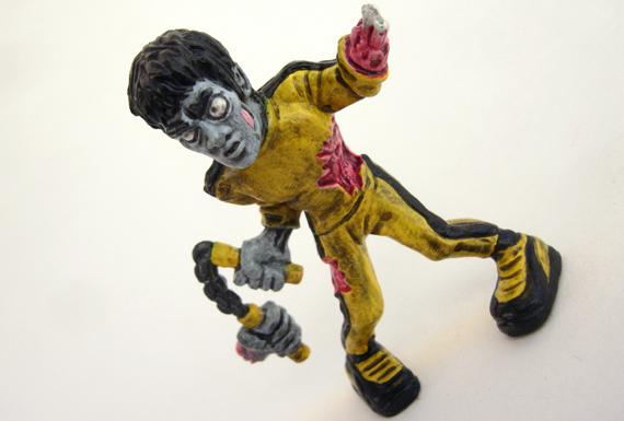 Nerds vs Zombies - Walking Dead Escape - Zombie Bruce Lee