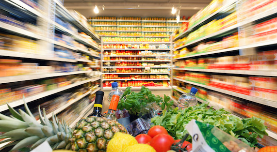 Essential Clean Eating Shopping List - Grocery Cart - The Jerd