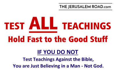Test ALL Teachings