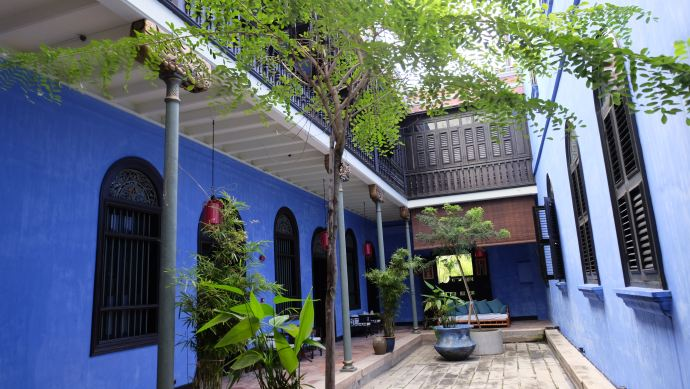 The Blue Mansion Penang Malaysia