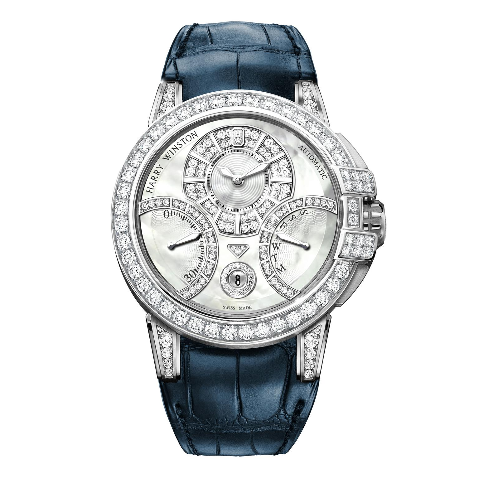 Ocean Biretrograde Automatic Watch Harry Winston The Jewellery Editor