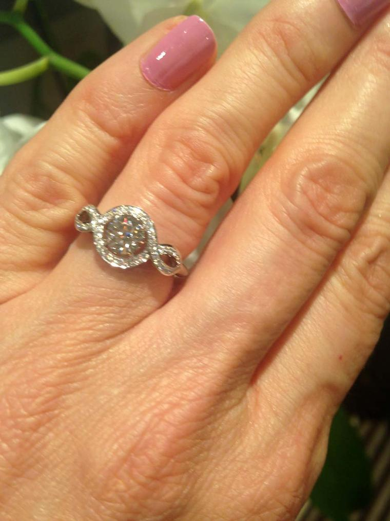 Engagement Ring Shopping On Bond Street 100 Rings In One