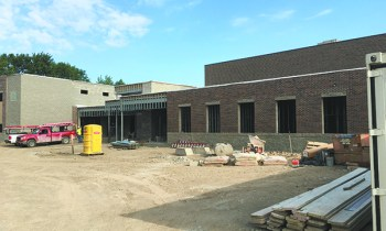 The new building at Farber Hebrew Day School in Southfield will be ready for students after winter break.