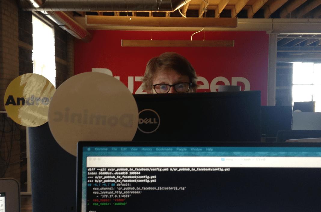Andrea Handevidt found her way to software engineering