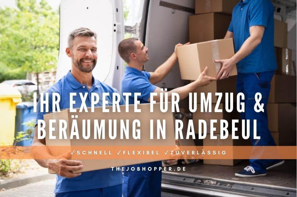 Beräumung & Umzugsunternehmen in Radebeul