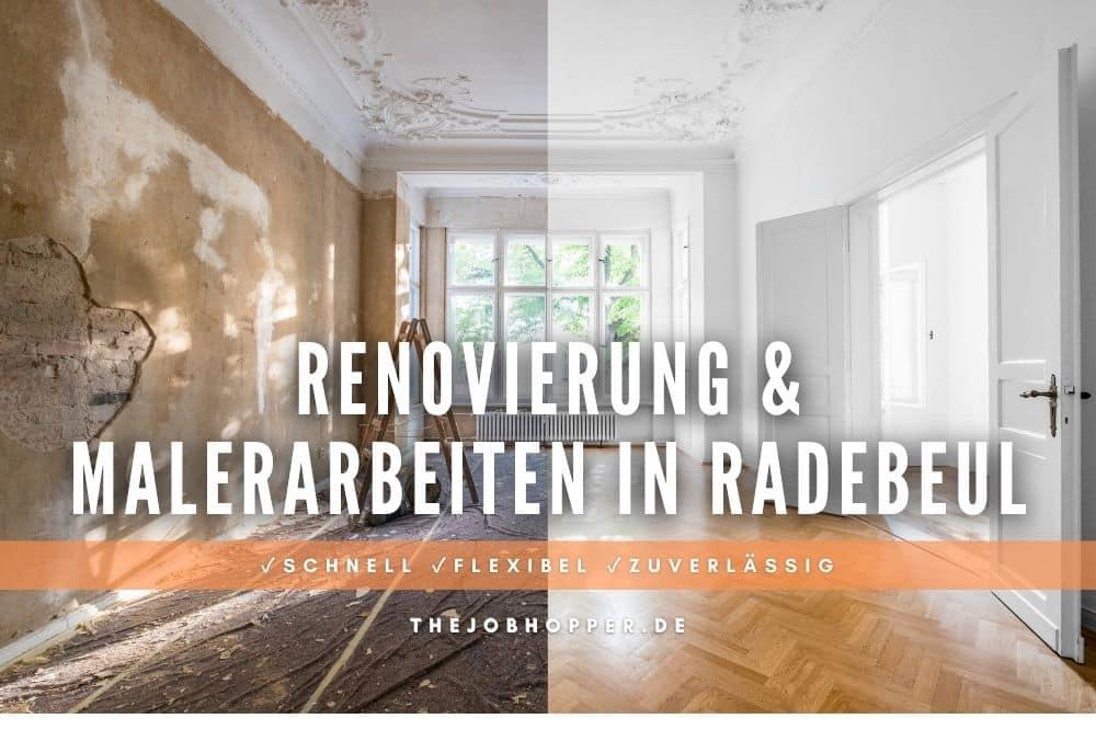 Renovierung & Malerarbeiten nach Umzug in Radebeul