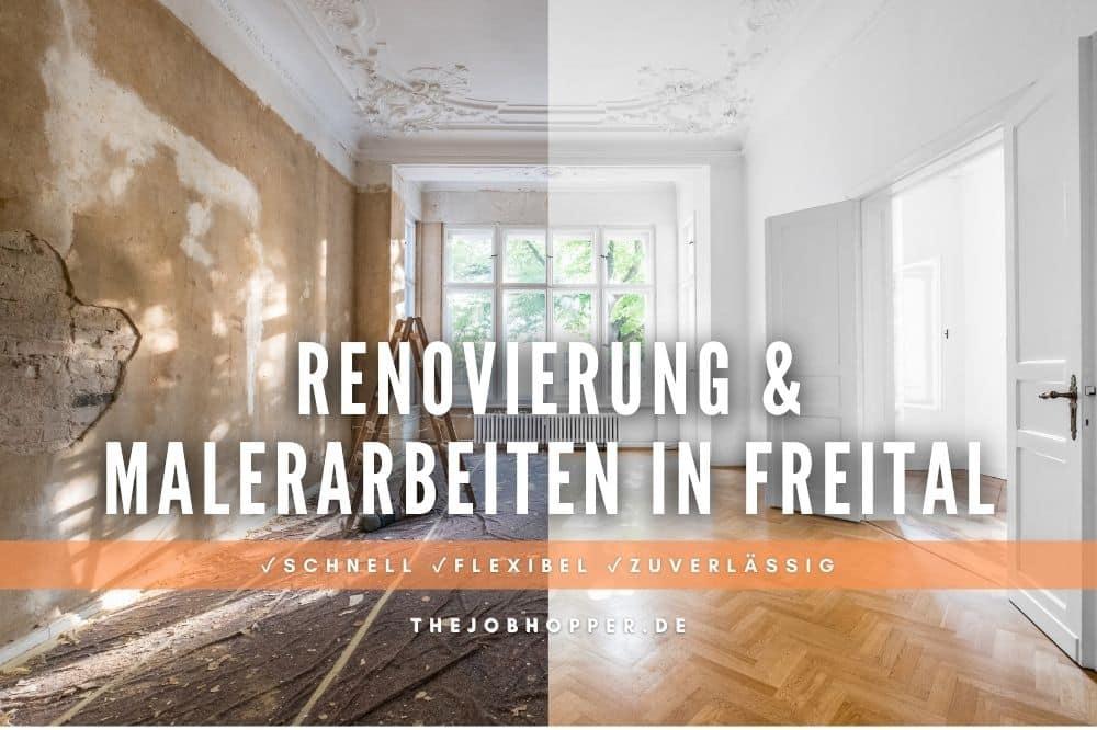 Renovierung & Malerarbeiten in Freital