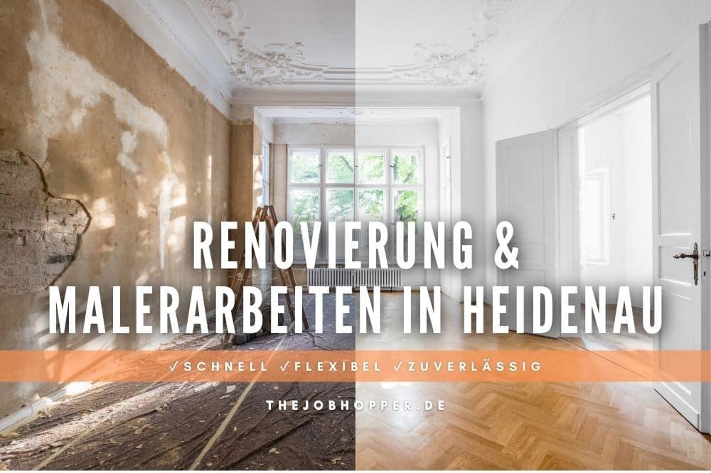 Renovierung & Malerarbeiten in Heidenau