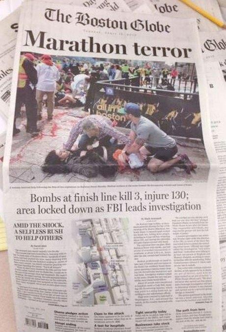 Devastating End to The Boston Marathon