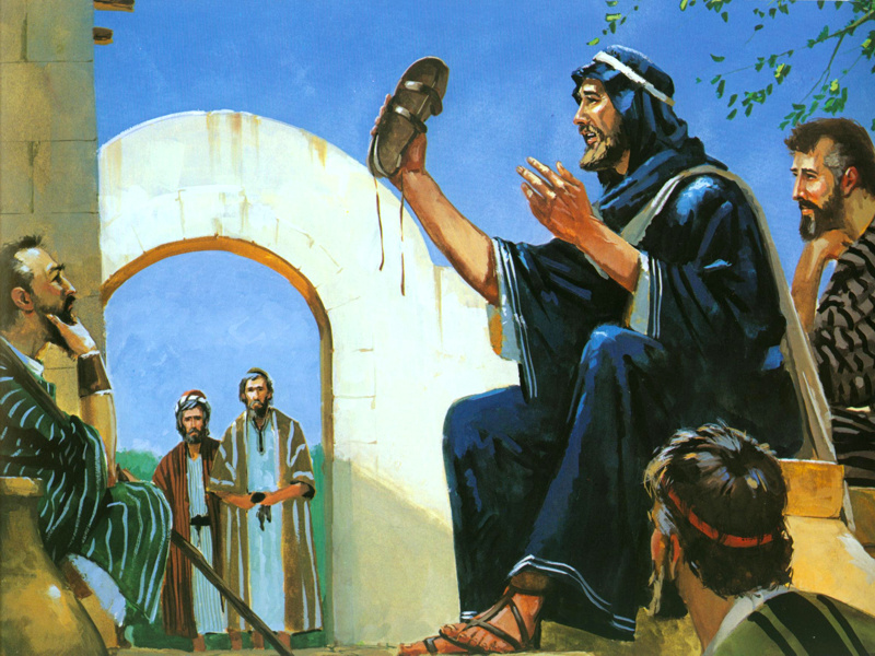 I Am Not Worthy to De-Sandal the Kinsman Redeemer – A Sermon