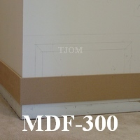 mdf diy baseboard molding