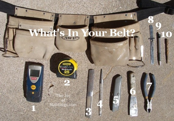 Finish Carpentry Tool Belt