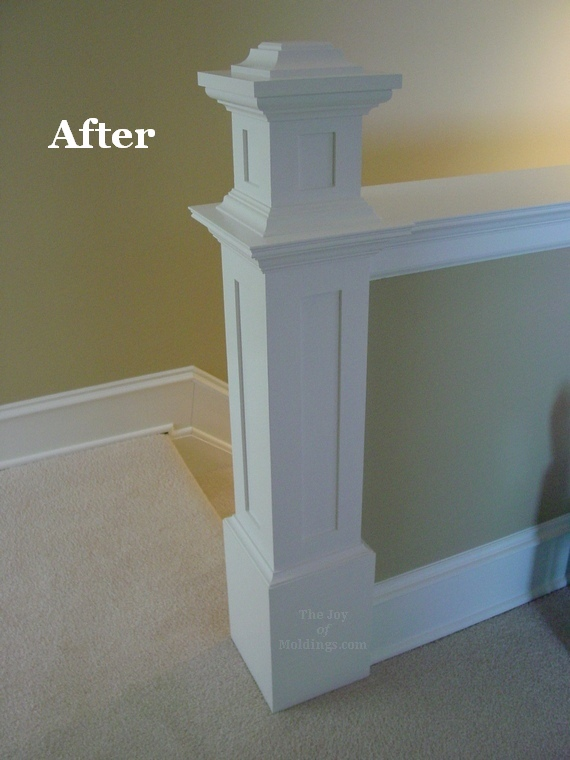 Newel Post after