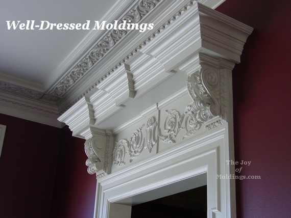 Well Dressed Moldings This Is What Two Hand Brushed Coats Of Benjamin Moore Satin Impervo Paint