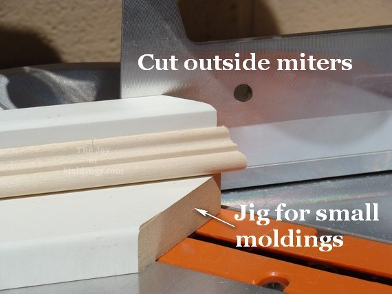 diy mdf valance box necking molding