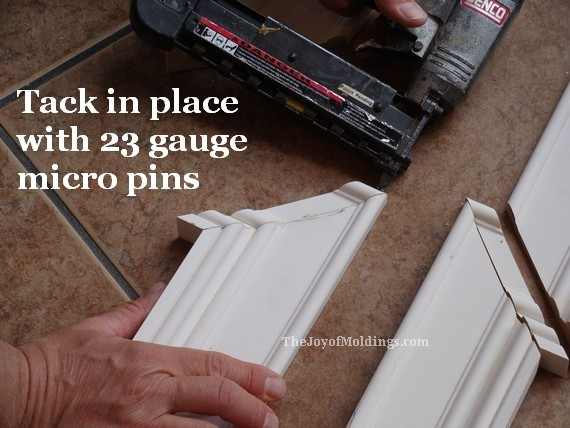 senco 23 gauge micro pinner nailing door trim moldings