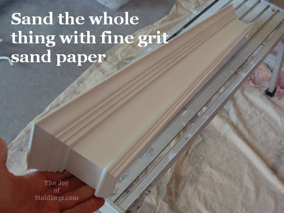 primed window valance box