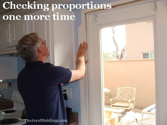 how to install mdf door trim in kitchen