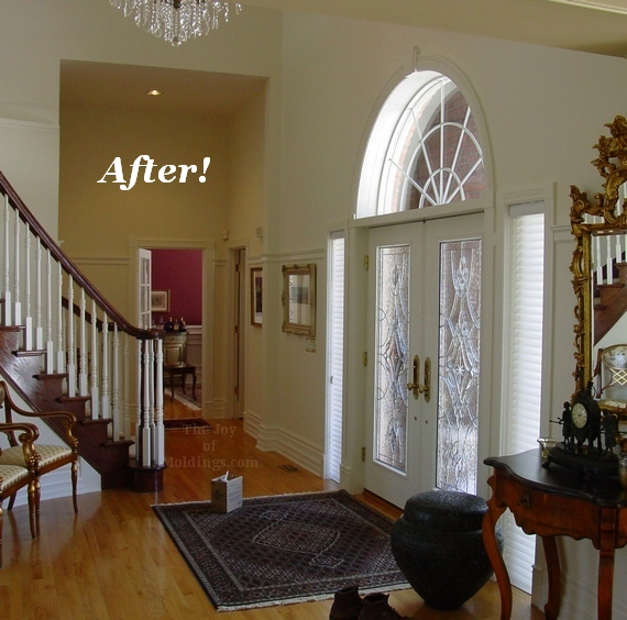 Before And After From Separate Rooms To Huge Open Plan: Before & After: Turn Your Foyer Into A Gallery With
