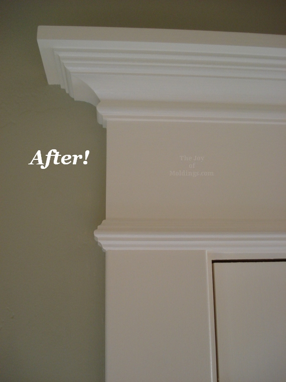 patio french door trim molding made from mdf