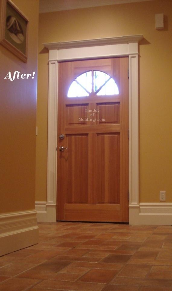 mdf front door surround molding trim