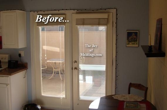 diy mdf kitchen door trim molding