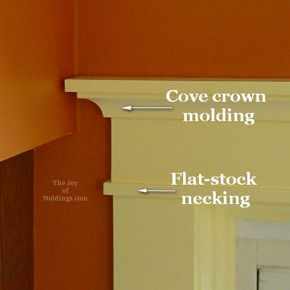crafstman arts and crafts style door trim