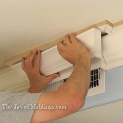 diy easy crown molding
