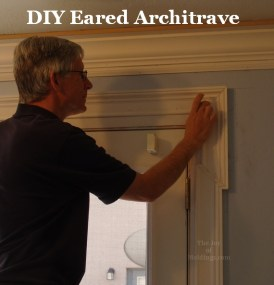 how to install an eared, lugged, shouldered architrave