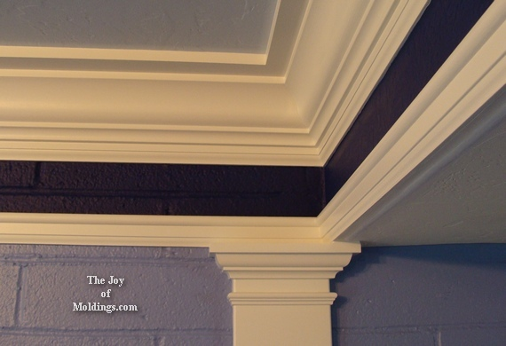 how to install diy mdf kitchen moldings