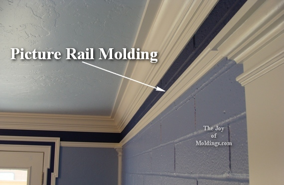 Picture Rail Molding Kitchen For Hanging Plates The Joy