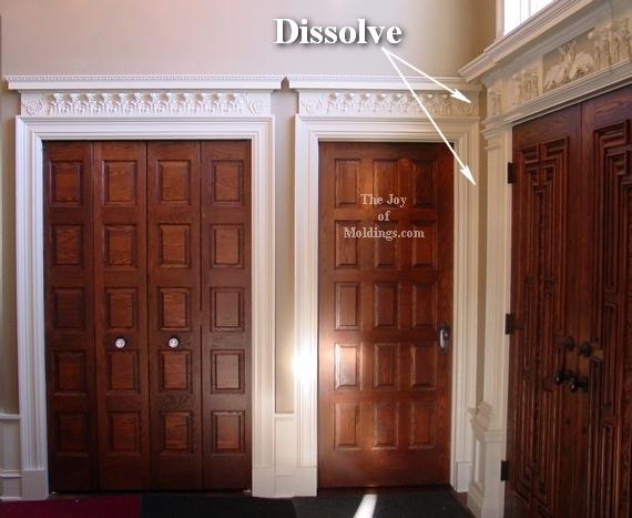 foyer door trim moldings