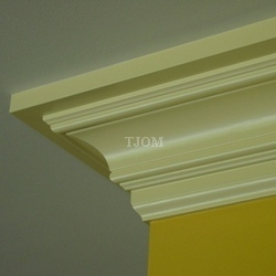 three-piece crown molding buildup