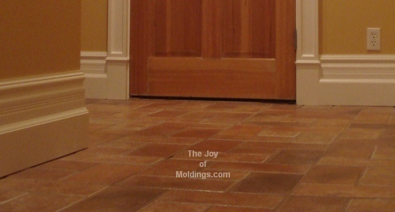 how to install large baseboard