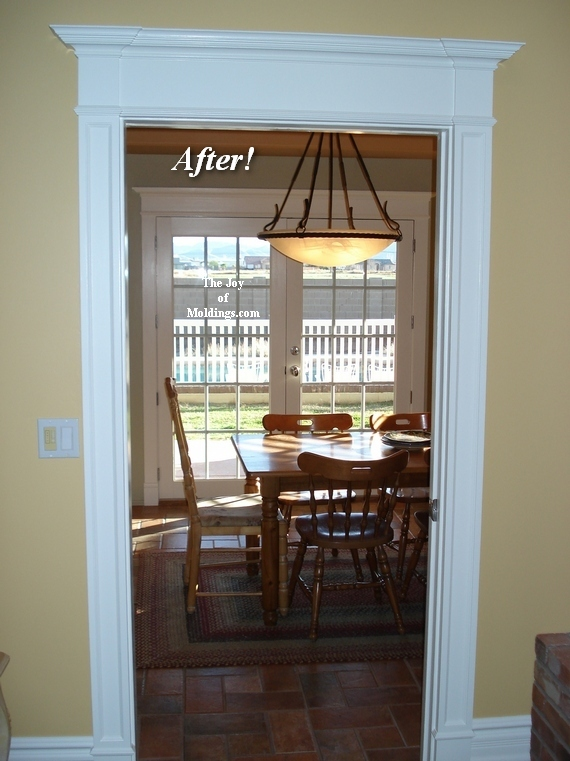 pocket door mdf moldings