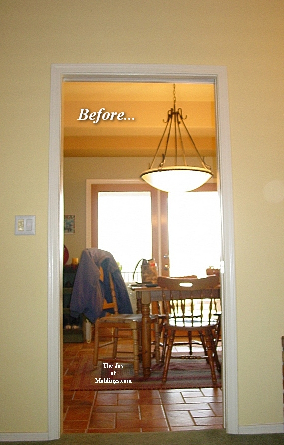 diy door trim moldings for pocket door
