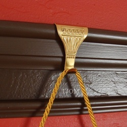 antique picture rail hooks and molding