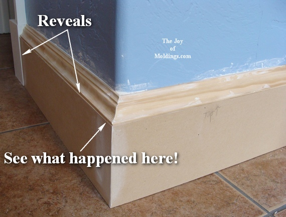 diy greek revival baseboard molding