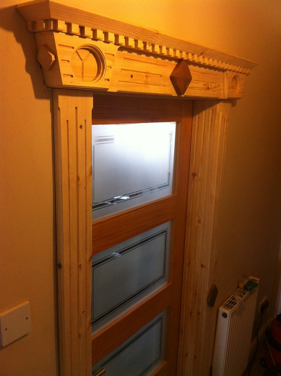 front door trim moldings