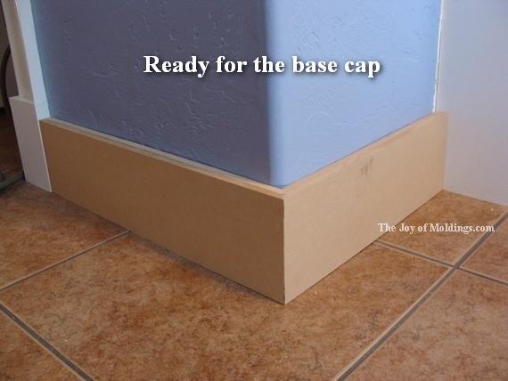 mdf baseboard moldings
