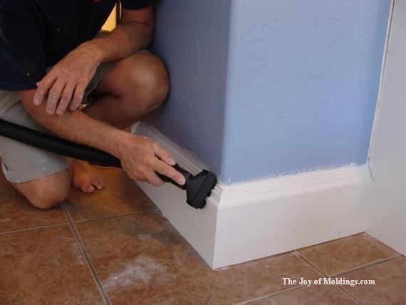 baseboard trim molding