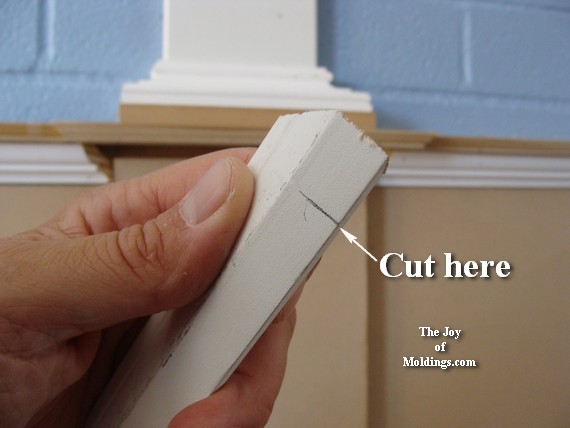 how to cut molding