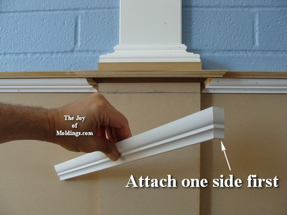 wainscoting step by step