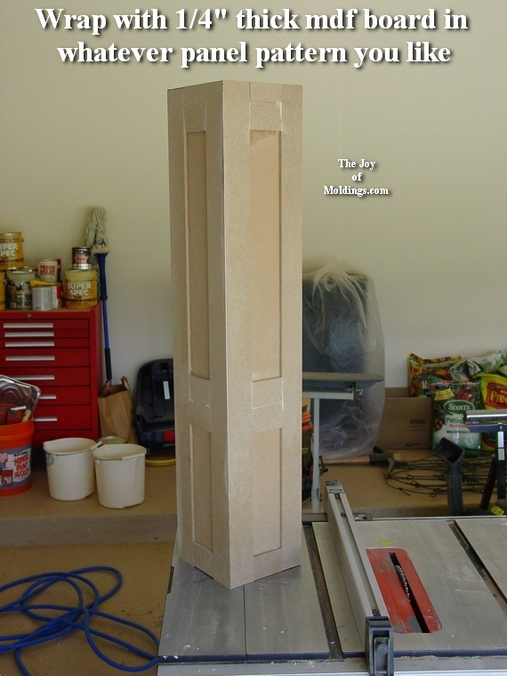 diy newel post