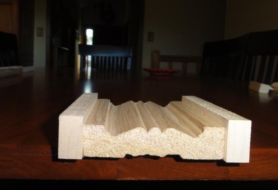moldings with corner blocks