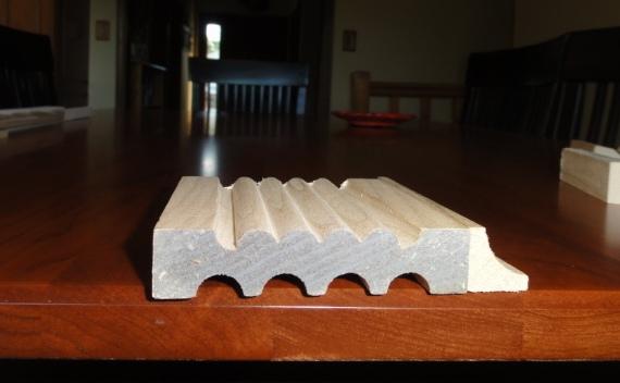 reed molding for corner blocks