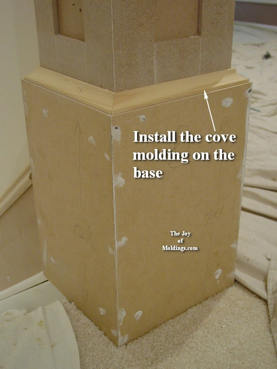 how to make a newel post