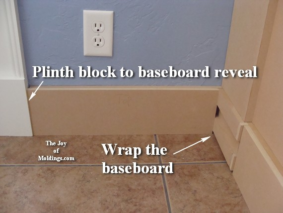how to install wainscot baseboard