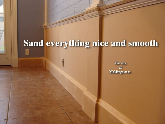 how to install mdf wainscoting