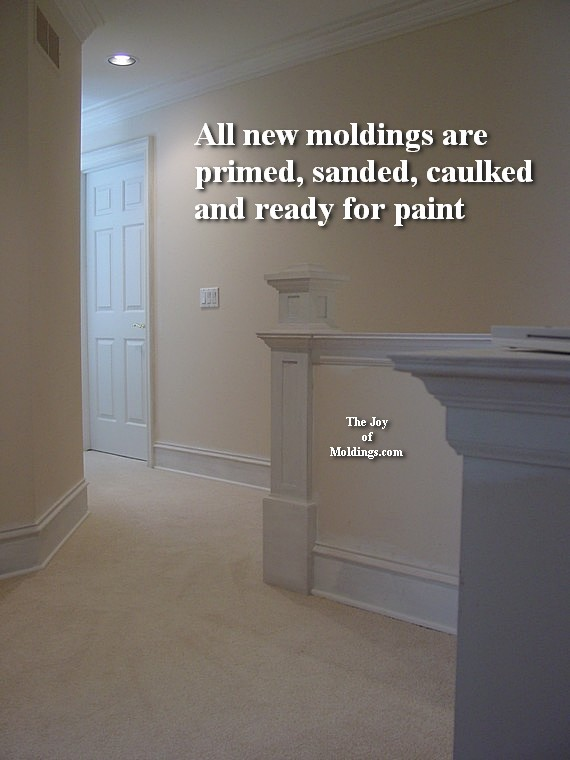 how to install easy large mdf moldings